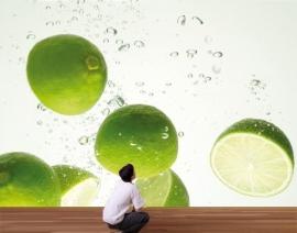 Mantiburi limoen Fotobehang Limes Swim 33