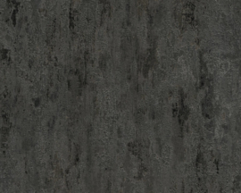Beton behang metalic grijs zwart 32651-5