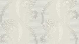 barok behang Erismann Serail grijs wit zilver 6804-01