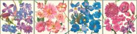 behangrand floral bloemen xx611