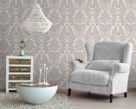 barok grijs behang  rasch tapete xx89