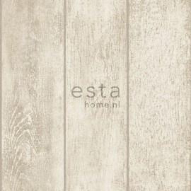 Esta Home Denim & Co. wooden planks beige 137747