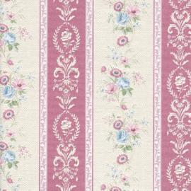 Engelse bloemen behang E24003