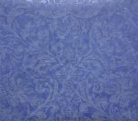 Barok behang blauw BA135