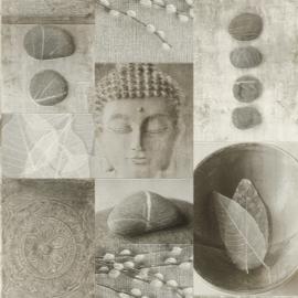 Boedha behang steen 306347