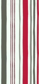 Noordwand Les Aventures 36070713 rood grijs wit taupe strepen behang