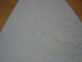 wit glitter behang 31