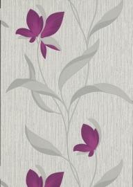 glitter bloemen behang Erismann 9730-09