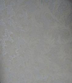 wit glitter behang 35