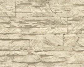AS Creation Wood´n Stone 7071- Steenstructuur behang