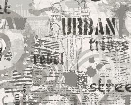 AS Creation Boys and Girls 93553-1 Urban Street behang