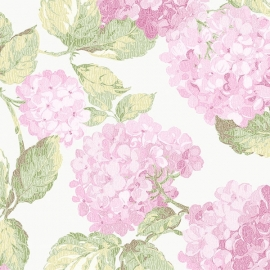 Norwall English Florals bloemen behang G34311