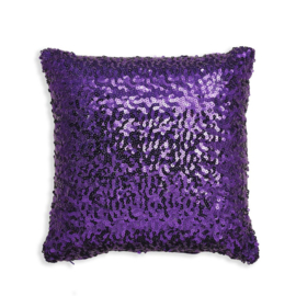 Arthouse Glitterati kussen Purple Sequin 008328