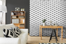 Dutch Wallcoverings Horizons behang Steen L57109