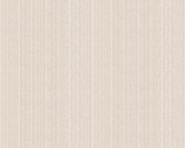 Glitter Behang bruin grijs 34043-6