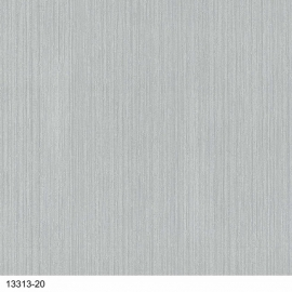 Uni Grijs lijntjes glitter Behang 13313-20