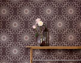Bloemen Behang modern 94022-4
