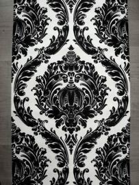 behang zwart wit vloers effekt vlies barok behang 170