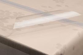 tafelzeil tafelkleed doorzichtig transparant 0,30 mm dik