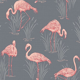 flamingo behang arthouse laguna 252603