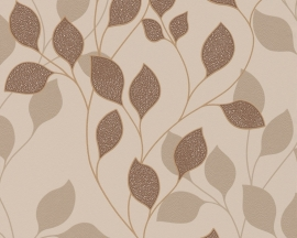 as creation 939674 beige bruin modern bloemen behang