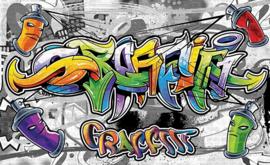 For Wall Fotobehang Graffiti 2295P8