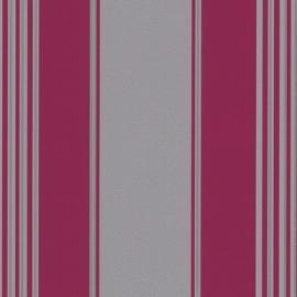 9699-29 grijs roze modern streep behang
