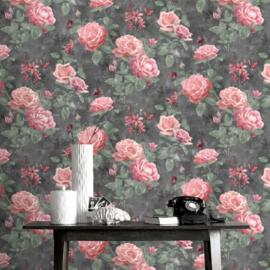 Rasch Amsterdam Rozen behang 215014