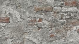 Steen behang verouderd betonlook 939330