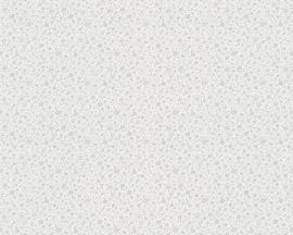 Grijs kleine bloemetjes A.S. CRÉATION Behang 30525-3
