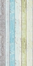 855077 groen blauw creme grijs sloophout behang