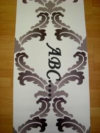 barok behang bruin creme 3d 176