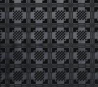 tafelzeil 0011/02 zwart kant