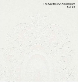 BN The Gardens of Amsterdam 46102 off-white beige behang