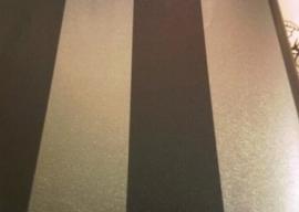 streepjes donkerblauw zilver behang 3