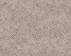 Beton behang grijs taupe 36924-3