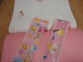 roze wit combi meisjes behang 27