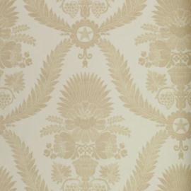 barok behang creme goud 9455