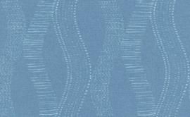 retro behang blauw 6348-44