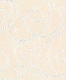 Retro behang  beige 452204