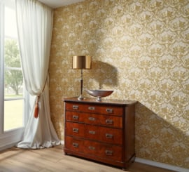 goud klassiek barok behang 34370-1