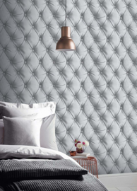 Chesterfield 3d Leather behang 618104