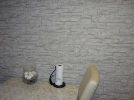 grijs steen natuursteen trendy vlies behang 15
