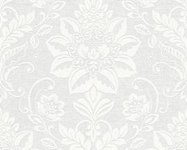 wit overschilderbaar behang barok 3212-13