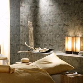 3D natuursteen Behang 45008-40