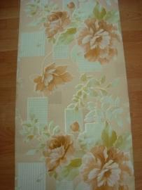 goudbruin glim bloemen vinyl behang 11