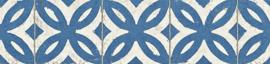 behangrand delfst blauw retro xxx59