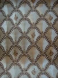 grijs goud hermitage klassiek behang 10