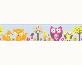AS Creation Esprit Kids 3 dieren bos behangrand 94113-3