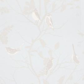 vogel behang parelmoer glim xx89